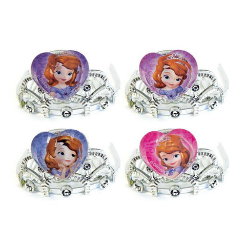 Sofia The First Plastic Tiaras 4ct