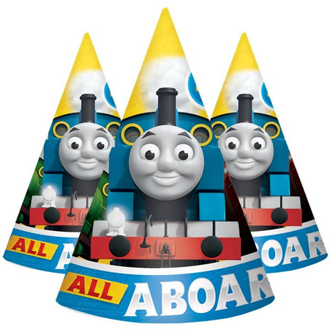 Thomas and Friends Party Hats 8ct