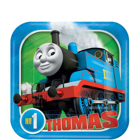 Thomas the Tank Engine Paper Party Dessert Plates 8ct