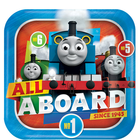 Thomas the Tank Engine Paper Party Plates 8ct
