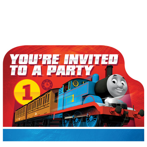 Thomas the Tank Engine Postcard Invitations 8ct