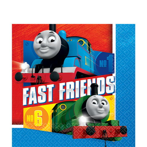 Thomas the Tank Engine Napkins 16ct  sc 1 th 225 & Thomas And Friends Party Paper Plates 8ct \u2013 Prestige Party Supplies