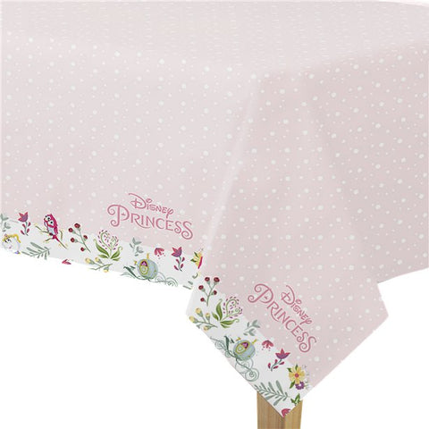 Disney True Princess Plastic Tablecover - 1.2m x 1.8m