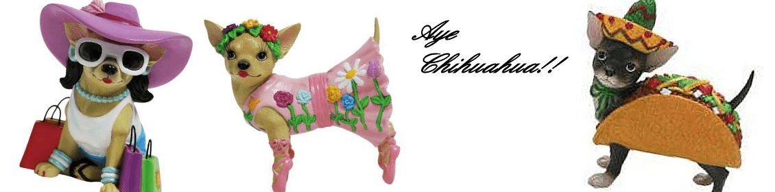 Aye Chihuahua  |  Discontinued Collectible Figurine
