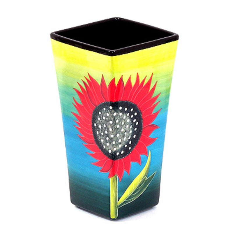 Mary Naylor Henriksen Imports Sunflower Large Vase