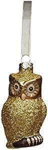 180 Degrees Owl Ornament, Choice of Color