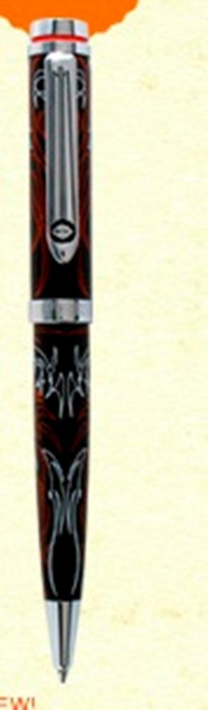 Retro 51 Harley Davidson Full Throttle Eagle Pinstripe Ball Pen