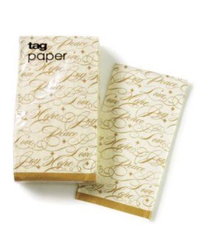 TAG Festive Holiday Paper Buffet Napkins - TAG