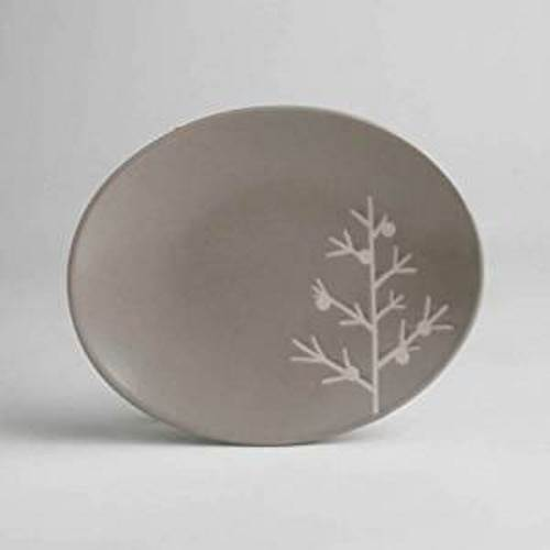 TAG Chalet Collection Tree Appetizer Plate, Set of 4