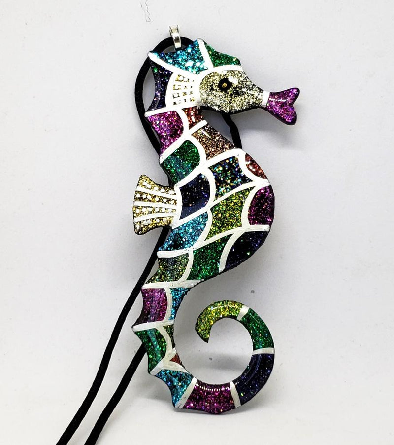 Stephanie Saint-Thomas  Seahorse Pendant, Hand Made in the USA