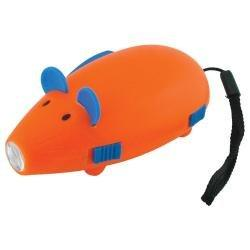 Dynamo Flashlight - Orange Mouse from Made By Humans