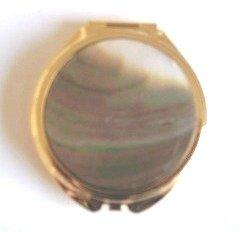 Abalone Shell Mirrored Compact by D & J Trading