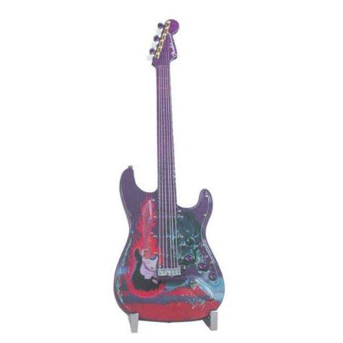 Fender GuitarMania Flaming Guitar Figurine