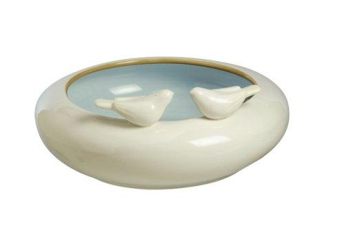 Grasslands Road Melody Collection Songbird 10-3/4-Inch Centerpiece Bowl
