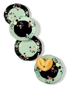 TAG Bistro Appetizer Plates Set of 4