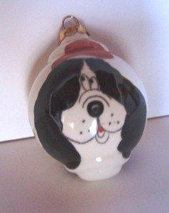 Handmade Dog Ornament by Elias Ceramics