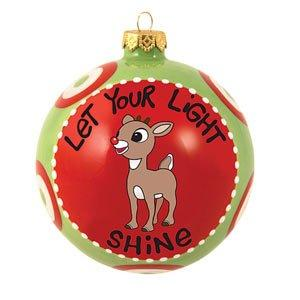 Our Name is Mud Rudolph Ornament