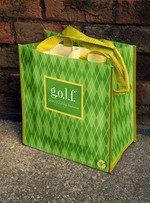 g.o.l.f Party to Go Tote Reusable Bag