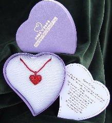 Expressions Nearer My Heart Pendant, Ruby Red