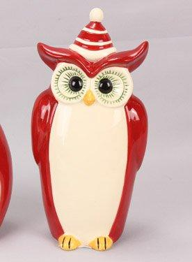 Young's Ceramic Owl Figurine, 11-Inch