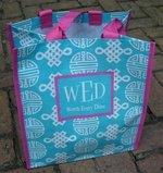 WED Reusuable Shopping Bag by Fine Whines