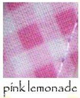 OOPC-Pink Lemonade Burp Cloth/Bib by I'm Still Me