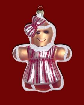 Cherry Designs Jenny Ginger Ornament