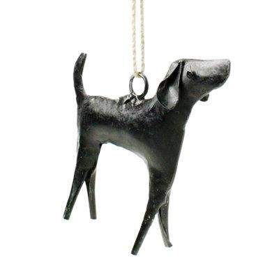 HomArt Reclaimed Metal Ornament, Dog