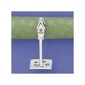 Pewter Birdhouse Ring Holder by Basic Spirit