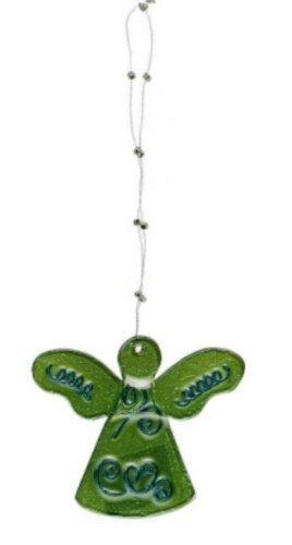 Creative Co-op Glass Angel Ornament, Choice of Color