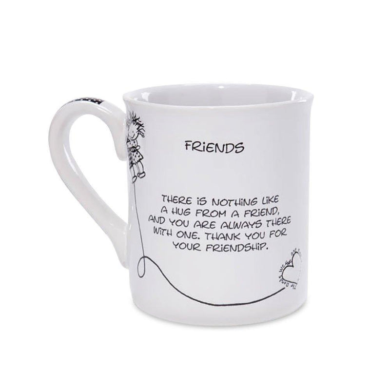 Enesco Children of the Inner Light Friends Mug