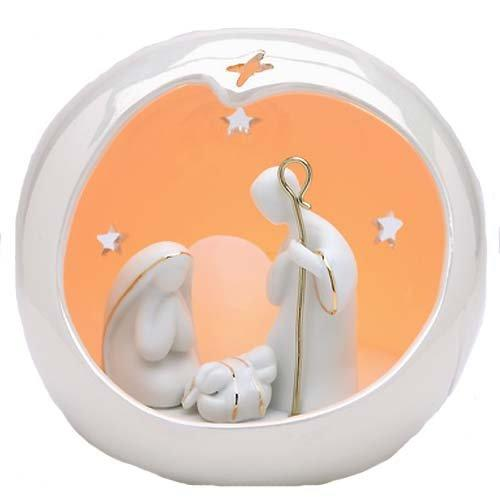 Appletree Design Small Globe Holy Family Nativity Scene