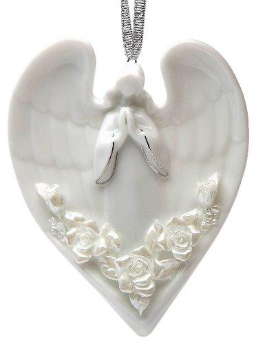 Appletree Design Angel and Roses Ornament