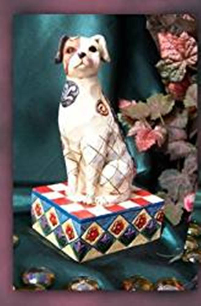 Jim Shore Heartwood Creek Terry Terrier Figurine