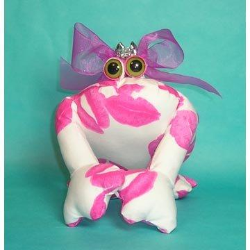 Hot Lips Frog Plush Sachet