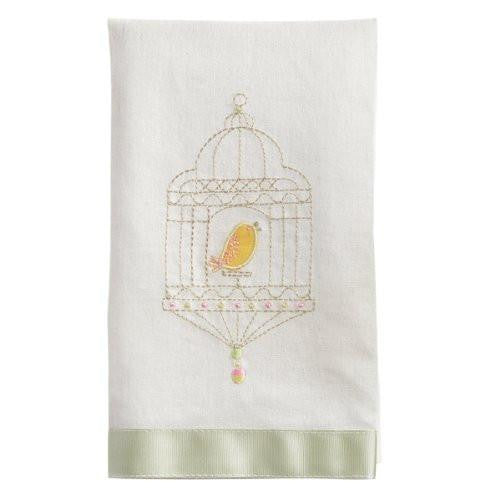 Grasslands Road Soap Dish with Towel, Bluebird