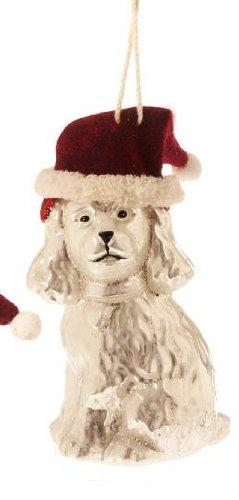 RAZ Imports Blown Glass Dog Ornament, Choice of Dalmatian, Cocker Spaniel or Shaggy Dog