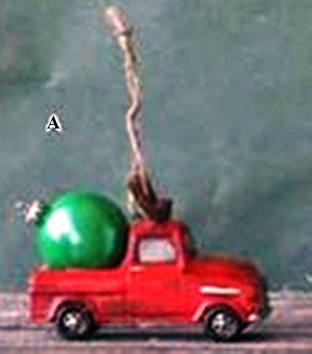 Creative Co-Op Camp Christmas Collection Automobile Ornament, Choice of Style