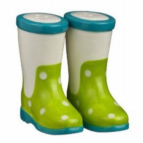 Grasslands Road Puddle Jumper Salt and Pepper Shakers - Green - Grasslands Road