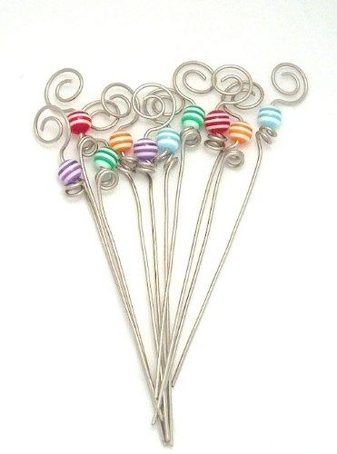 Gone Home Garnish Picks, Set of 10 - Handmade in the USA