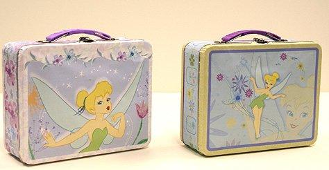 Tinkerbell Embossed Tin Lunch Box - The Tin Box Company