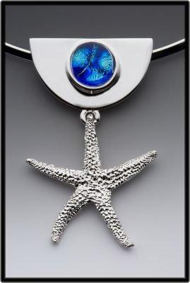 Handmade Starfish Pendant by 3 Escargot