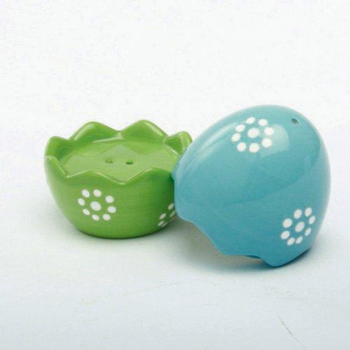 TAG Ceramic Cracked Egg Salt & Pepper Shakers