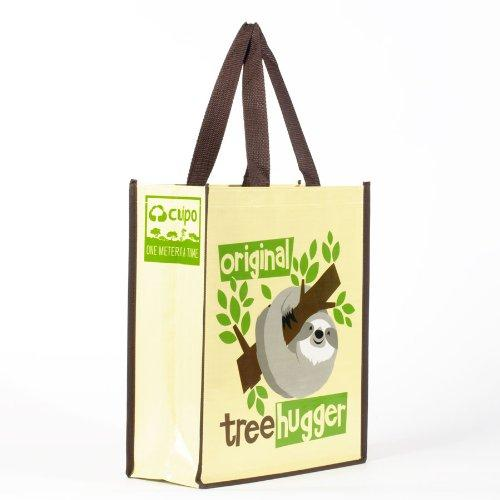 Enesco Cuipo 'Save The Rainforest' Original Tree Hugger Tote, 14-Inch
