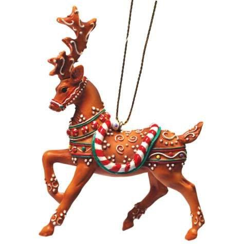 Fly Fly As Fast As You Can Reindeer Christmas Ornament in a Tin By Westland Giftware