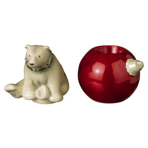 Grasslands Road Winter Wilderness Stackable Salt & Pepper Shaker Set, Choice of 4 Styles