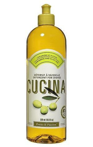 Cucina Dish Detergent, Coriander and Olive Tree