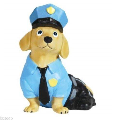 Westland Giftware Hot Diggity Dog Policeman Figurine, Retired