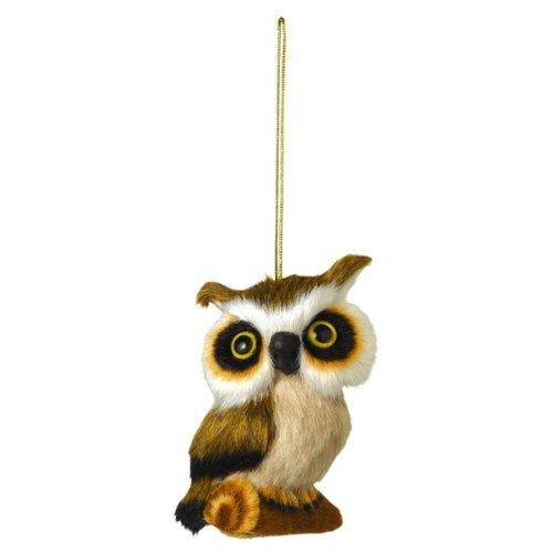 Grasslands Road Plush Owl Ornament, Choice of Styles