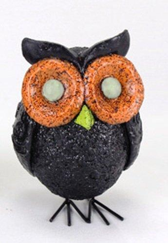 Glow in the Dark Owl Figurine By Young's, Choice of Color